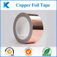 Buy cheap Conductive Copper Foil Tape, EMI shielding tape from Wholesalers