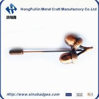 China Personalised Metal Brooch Pins for Lading Makeups on sale