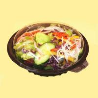 Buy cheap Clear Lid Salad Plastic Container with Dome Shape from Wholesalers