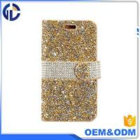Buy cheap 2017 china phone diamond cover case manufacturer leather cell phone case for iphone 7 6 from Wholesalers