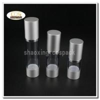 Quality 50pcs/lot ZA22 15ml 30ml 50ml aluminium clear airless pump bottles wholesale wholesale