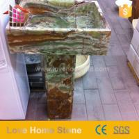 Buy cheap Luxury Design Large Marble Bathroom Basin And Marble Basin Countertop from Wholesalers