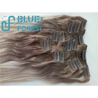 China Double Drawn Clip In Brazilian Hair Extension Large Stocks Any Color Size 8-30inch Customization Ava factory