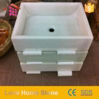 Buy cheap Marble Bathroom Countertop Basin And Double Vanity And Console Sink from Wholesalers