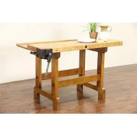 Buy cheap Butcher Block Maple Work Bench, Kitchen Island, Wine Table, Clamp Pat 1884 from Wholesalers