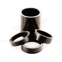 China Wheels Manufacturing 1-1/8-inch Carbon Spacer (bag Of 5), 2.5mm factory
