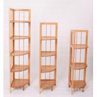 China Bamboo toilet storage shelf factory