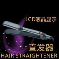 Buy cheap Hair straightener Pro Wide Plate Ceramic Tourmaline hair straightener from wholesalers