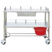Buy cheap Stainless Steel Three Layers Instrument Table Trolley from Wholesalers