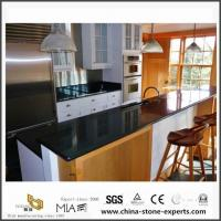 Inexpensive Local Absoutely Black Colors Granite Countertops with Best Price