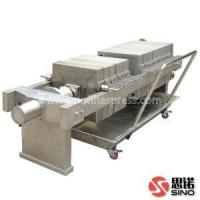 Buy cheap High Quality S.S. (Stainless Steel) 304 Filter Press for Solid Liquid Separation from wholesalers