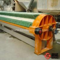 Buy cheap High Pressure Round Filter Press for Ceramic and Porcelain Clay from wholesalers