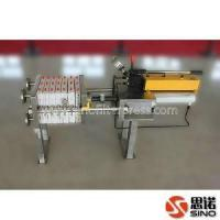 Buy cheap Compact Manual Hydraulic Design Recessed Chamber Filter Press from wholesalers