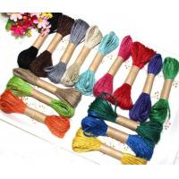 Buy cheap 300M Blue Color 1PLY Eco-friendly Jute String Rope for Crafts from Wholesalers