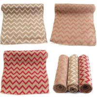 Buy cheap Printed Burlap Table Cloth Jute Hessian Tablecloth Hessian Table Runners Vintage from Wholesalers