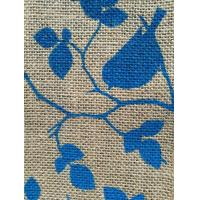 Buy cheap Wholesale Various High Quality Printed Jute Fabric from wholesalers