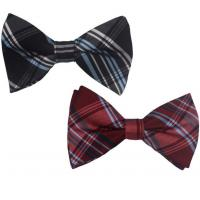China Custom Embroidered Bow Ties Maker factory