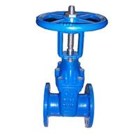 gate valve BS5163 Rising stem resilient seated