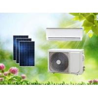 Buy cheap ACDC Split Dual Power On Grid Hybrid Solar Air Conditioner Wall Split Type from Wholesalers