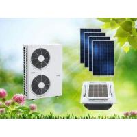 Buy cheap ACDC On Hybrid Grid Solar Air Conditioner Cassette For Home from Wholesalers
