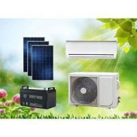 Buy cheap 48V Wall Split DC Solar Powered Air Conditioner Without Grid For Island Home Use from wholesalers