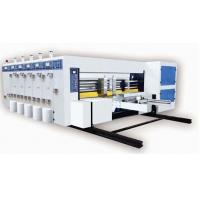 Buy cheap X Series Fully Automatic Printer Slotter Machine from Wholesalers