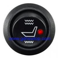 Buy cheap Round seat heater switch Aftermarket heated seat switch universal from Wholesalers