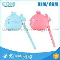 Buy cheap Promotion fish shaped cheap silicone kids coin purse from Wholesalers