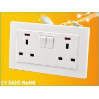 Buy cheap G1.1 2x13A Wall Socket from wholesalers