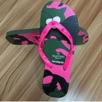 Buy cheap High quality natural rubber Flip flop with rubber strap from Wholesalers