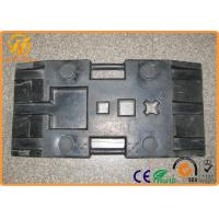 Buy cheap Heavy Duty Black Rubber Sign Pedestal Base with 28 kg Weight 800 x 400 x 120 mm from Wholesalers