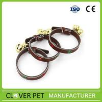 Buy cheap Decorated PU Leather dog collar pet collar cat collar from Wholesalers