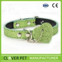 Buy cheap Luxury PU Leather Dog Collar from Wholesalers