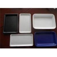 China Hamburger Plastic Packaging Trays , Rectangular Serving Tray Easy Cleaning on sale
