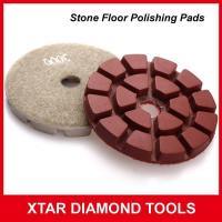 Buy cheap Fast Shinning Diamond Flexible Polishing Pads for Stone Floor from Wholesalers