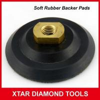 China Soft Rubber Backer Pads Adaptor for Granite Angle Grinder on sale