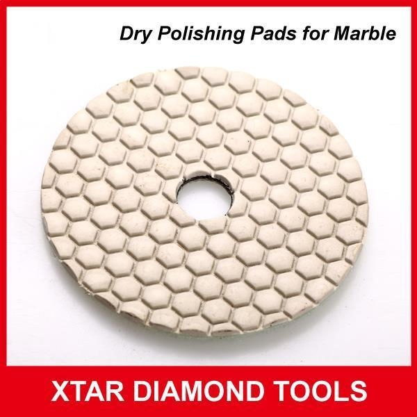 Quality Marble Wet Flexible Polishing Pads for Angle Grinder for sale