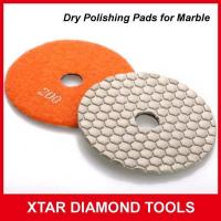 Buy cheap Fast Shinning Dry Flexbile Polishing Pads for Marble Polishing from Wholesalers