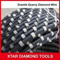 Buy cheap Diamond Wire Saw for Granite Quarry Sawing Machine from wholesalers
