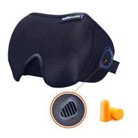 Sleep Mask, Sleeping Mask With Bleeder Vent Eye Mask For Sleep(black)