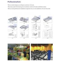 Buy cheap Amusement Park Sports Indoor Playground Trampoline Games for Teenagers from Wholesalers
