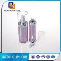 Ungrouped Oval Plastic Refillable Acrylic Cosmetic Lotion Pump Bottle