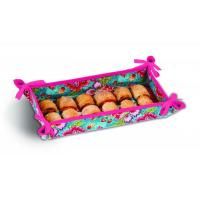 Buy cheap Reversible Hostess Appetizer Tray by Picnic Plus, Madeline Turquoise from Wholesalers