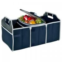 China Original Folding Trunk Organizer with Cooler by Picnic at Ascot - Navy factory