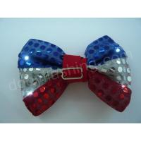 Buy cheap LED flashing sequin bow tie-13002 from Wholesalers