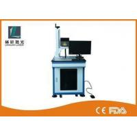 Buy cheap Metal Tube Mini Laser Marking Machine , Air Cooling Plastic Engraving Machine from Wholesalers