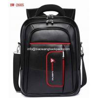 BW2605 small black pu leather biaowang bag backpacks cheap price