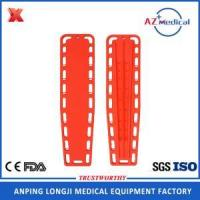Buy cheap Floating hard plastic adult medical spine board from wholesalers