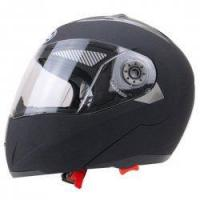 Buy cheap Motorcycle Protective Open Face Helmet with Shield Double Lens Medium Size Matte Black from Wholesalers