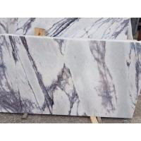 Buy cheap Living Room Stone Slab Countertop Calacatta Marble Worktop Crystal White from Wholesalers